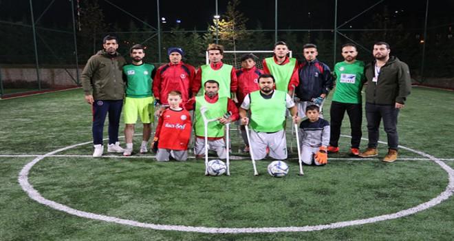 Denizli'nin ampute futbol takımı Süper Lig yolunda