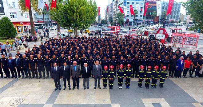 Nüfusa oranla Denizli itfaiyesi araç ve personel bakımından Türkiye lideri