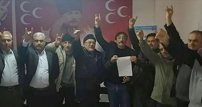 MHP Tavas ilçe yönetimi istifa etti