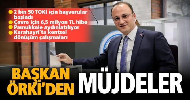 Başkan Örki, Pamukkale için önemli gelişmeleri paylaştı