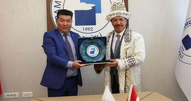 PAÜ ile Kırgızistan Üniversitesi 'değişim' anlaşması yaptı