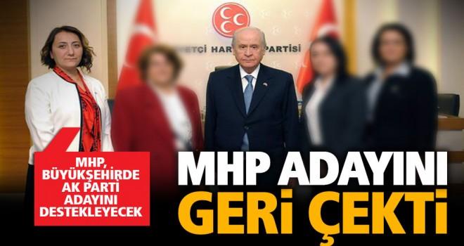 MHP'de beklenen gelişme: Büyükşehir adayını geri çektiler