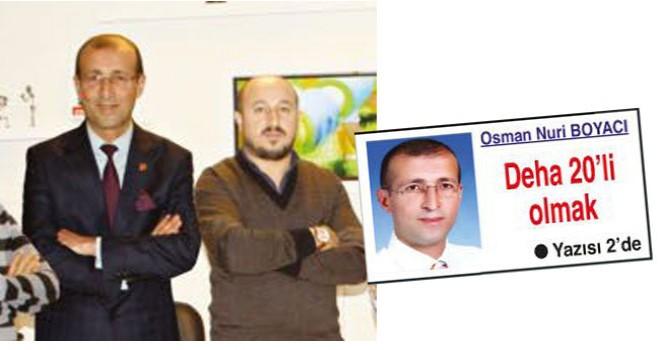 Osman Nuri Boyacı Deha 20'ye haber müdürü oldu