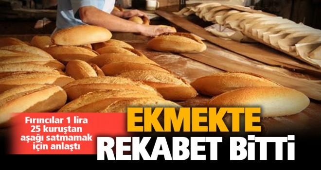 Fırıncılar anlaştı, ekmekte rekabet bitti