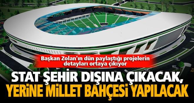Başkan Zolan, yeni stadyum ve Millet Bahçesi projesinin detaylarını paylaştı