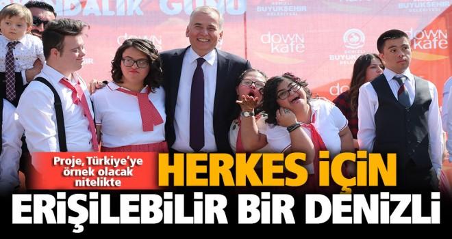 """""""Herkes İçin Erişilebilir Bir Kent"""" projesi, Türkiye'ye örnek olacak nitelikte"""
