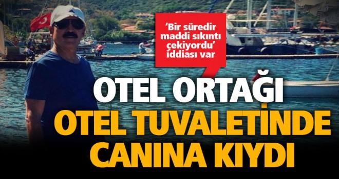 Otel ortağı Kadri Çimenoğlu intihar etti