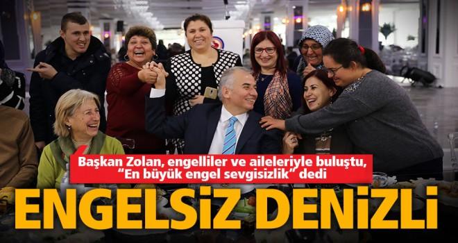 Başkan Zolan: En büyük engel sevgisizliktir