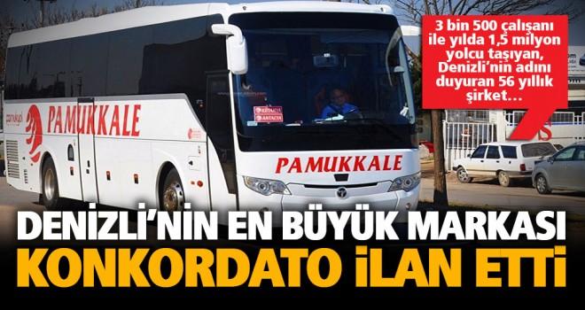 Pamukkale Turizm konkordato ilan etti