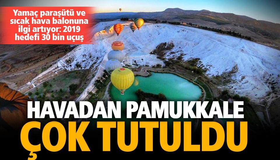 Adrenalin tutkunlarının yeni rotası Pamukkale