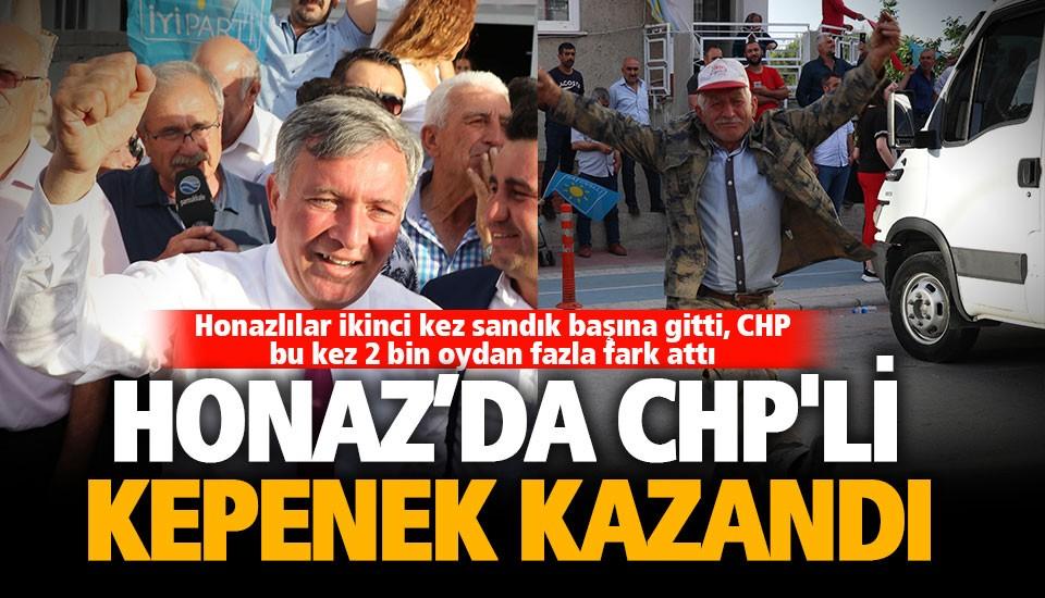 Honaz'da tekrarlanan seçimi yine CHP kazandı