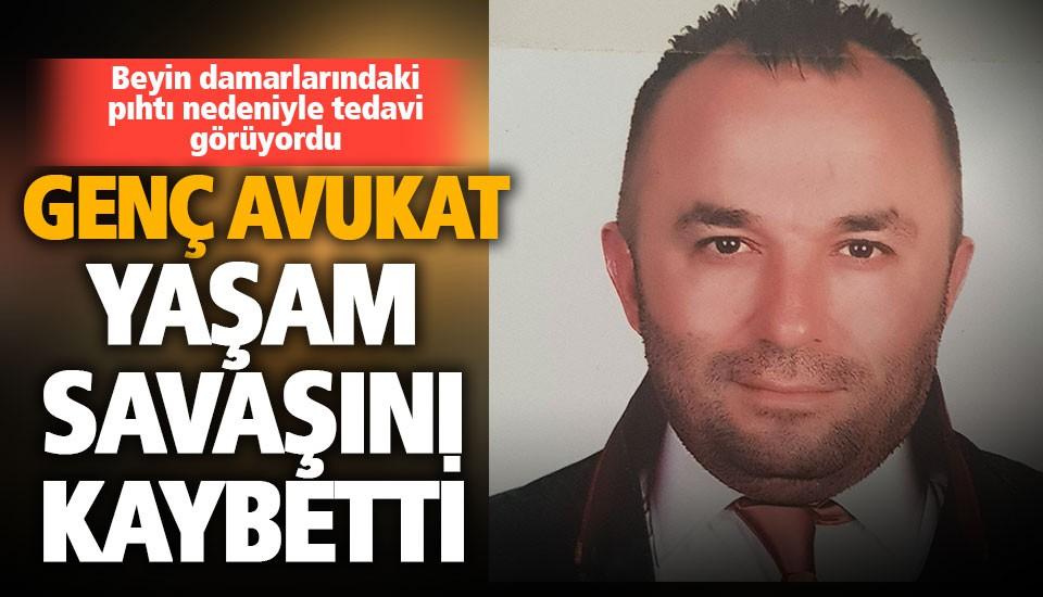 Genç avukat Bülent Mercanoğlu yaşamını yitirdi