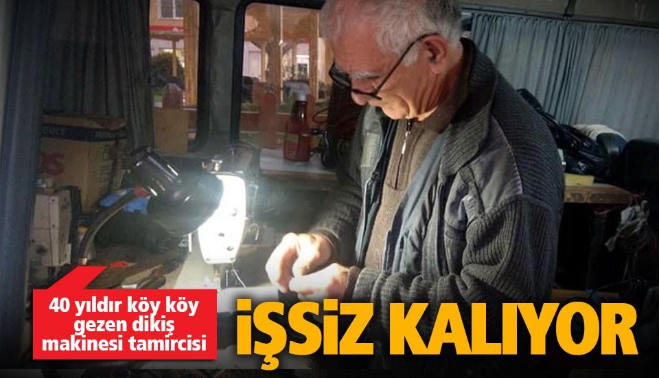 Dikiş makinesi tamircisi, teknolojiye direniyor