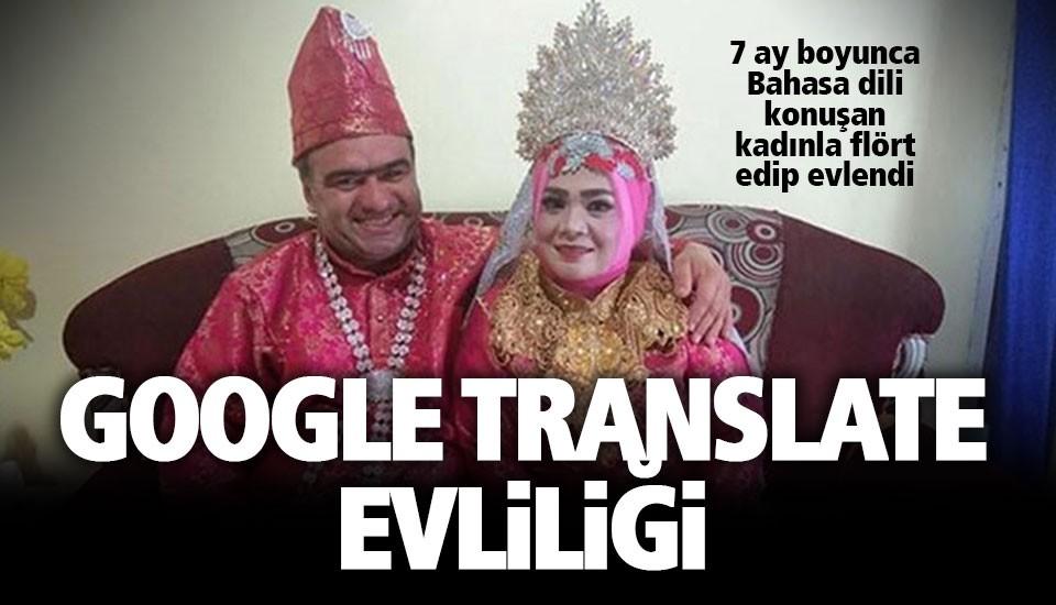 Aşkın dilini 'çevirici' ile çözdüler
