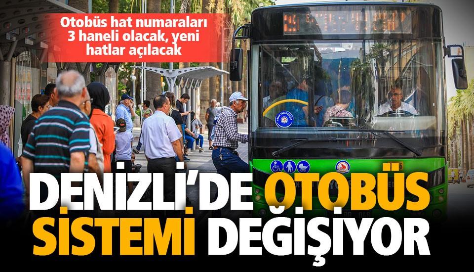 Yeni otobüs hatları 23 Ağustos'ta hizmete giriyor