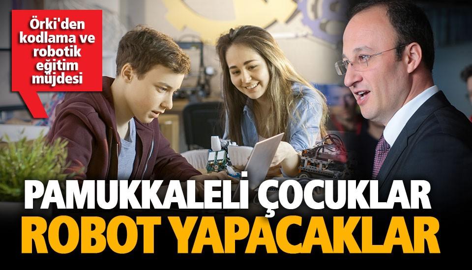 Örki'den kodlama ve robotik eğitim müjdesi