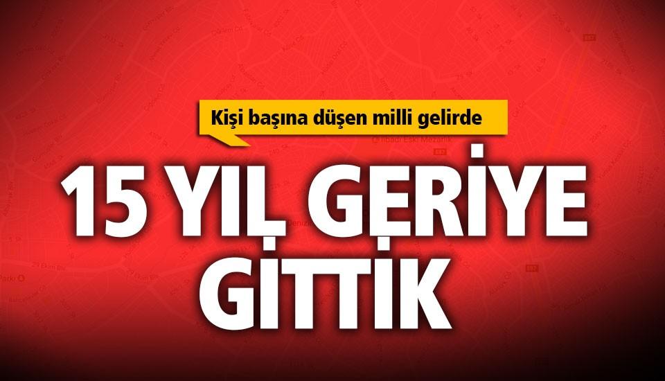 Denizli, milli gelirde Türkiye ortalamasının altında kaldı