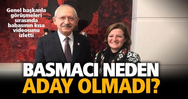 CHP'de adaylık beklentisi oluşturan Basmacı neden aday olmadı?