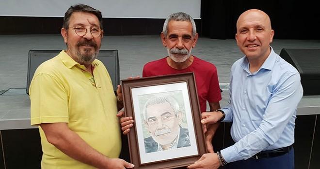Usta oyuncu Sarayköy'e teşekkür için geldi