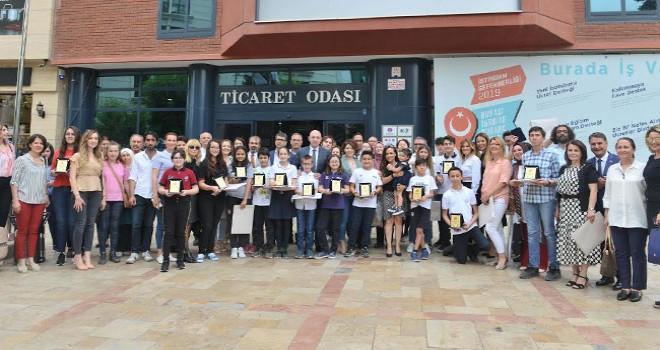 DTO'nun resim ve kompozisyon yarışmasında ödüller verildi