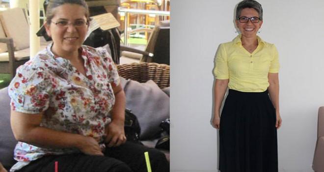 105 kilodan 65 kiloya düştü, şimdi başkalarının hayatlarına dokunuyor