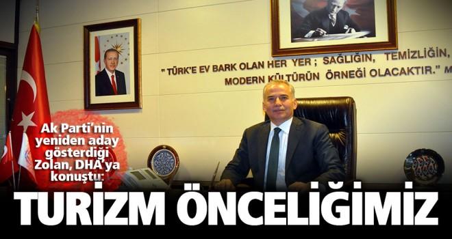 AK Parti'den yeniden aday gösterilen Osman Zolan: Yoğun çalışmalarımız olacak