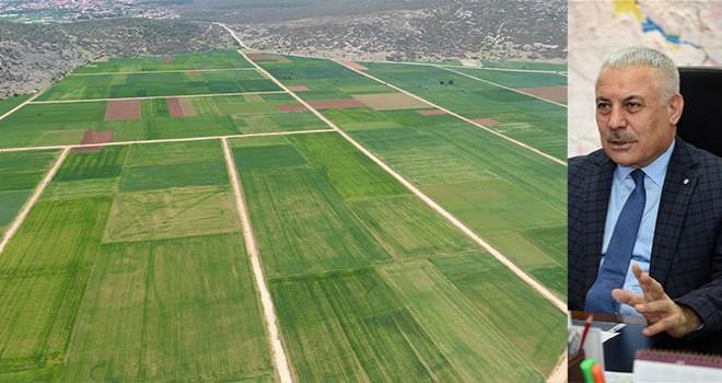 Denizli'de 170 bin 312 dekar arazi toplulaştırıldı