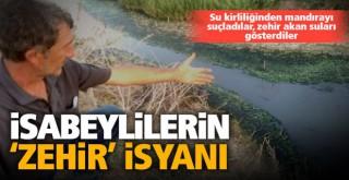 İsabeyliler isyan etti: Toprağımıza suyumuza zehir bulaşıyor