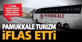 Mahkeme, konkordato süresi dolan Pamukkale turizmi iflas ettirdi
